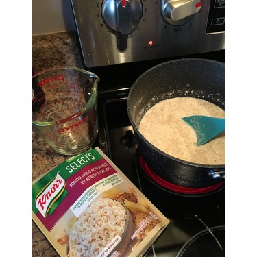 Knorr Selects Roasted Garlic Alfredo Rice