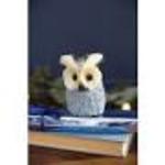 Canvas sisal owl