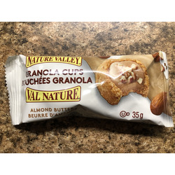 nature valley almond butter cups