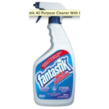Fantastik Scrubbing Bubbles All-Purpose Cleaner with Bleach