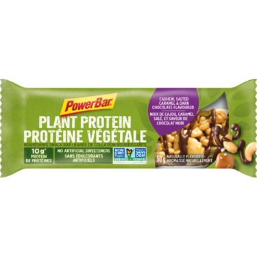 PowerBar Plant Protein Cashew, Salted Caramel and Dark Chocolate
