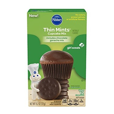 Pillsbury Thin Mints Cupcake Mix