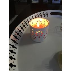 Ikea Peach Candle