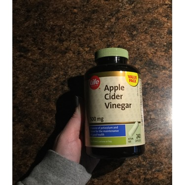 Life Apple Cider Vinegar Capsules Reviews In Supplements Familyrated