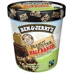 Ben & Jerry's Non-Dairy: Peanut Butter Half Baked