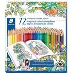 Staedtler Triangular Coloured Pencils