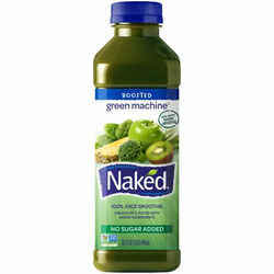 naked 100% fruit and vegetable smoothie green machine