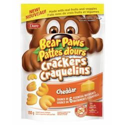 Bear Paws Crackers Cheddar