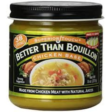Better than bouillon chicken base