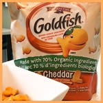 goldfish 70%organic ingredients