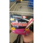 Chapmans twisters popsicles