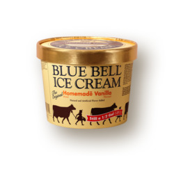 Blue bell homemade vanilla