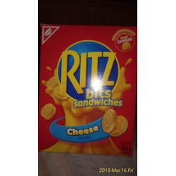 Christie Mini Ritz Sandwiches Cheese Flavoured