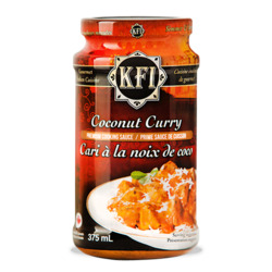KFI Coconut Curry Cooking Sauce