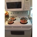 12 Piece Lagostina Euro-Clad Copper Cookware Set