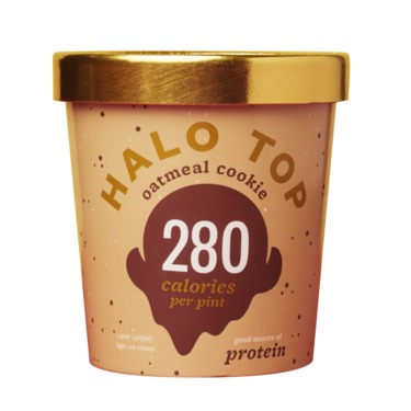 Halo Top Oatmeal Cookie