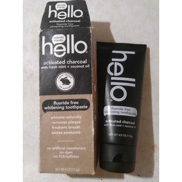 Charcoal Hello Toothpaste Reviews In Oral Care Familyrated