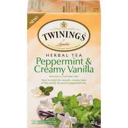 Twinings Peppermint and Creamy Vanilla Tea
