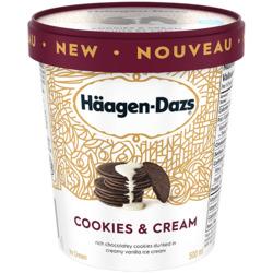Haagen Dazs Cookies and Cream