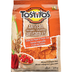Tostitos Artisan Grilled Red Pepper and Tomato tortilla chips