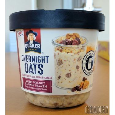Quaker Overnight Oats: Walnut, Raisin and Honey