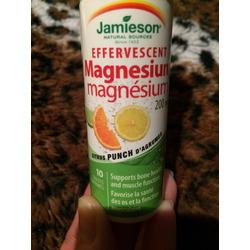 Jamieson Effervescent Magnesium Tablets