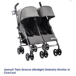 Joovy ultralight twin groove stroller